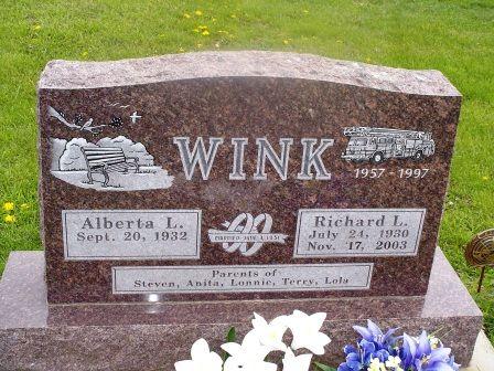 WINK, RICHARD L - Jones County, Iowa | RICHARD L WINK