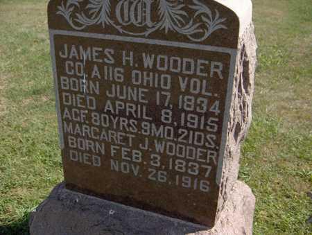 WOODER, MARGARET J. - Jones County, Iowa | MARGARET J. WOODER