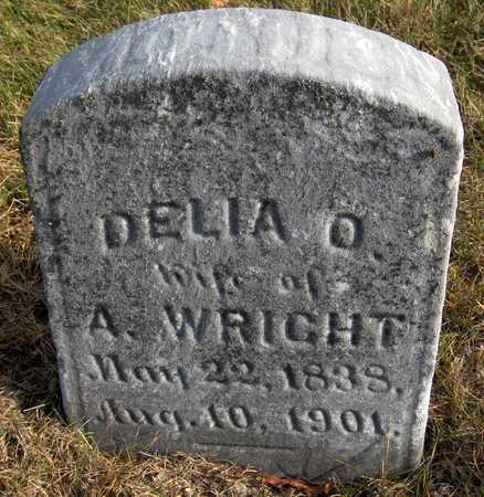 WRIGHT, DELIA O. - Jones County, Iowa   DELIA O. WRIGHT