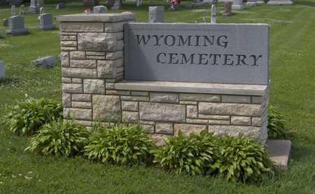 WYOMING, CEMETERY - Jones County, Iowa | CEMETERY WYOMING