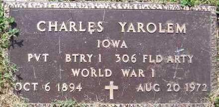 YAROLEM, CHARLES - Jones County, Iowa | CHARLES YAROLEM