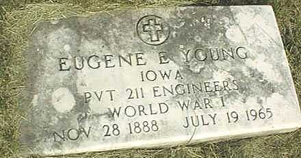 YOUNG, EUGENE E. - Jones County, Iowa | EUGENE E. YOUNG