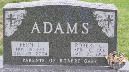 ADAMS, ROBERT GLENNWOOD - Keokuk County, Iowa | ROBERT GLENNWOOD ADAMS