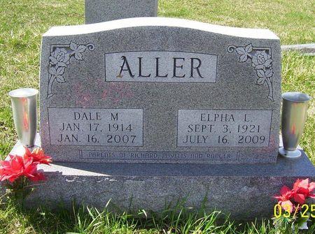 ALLER, ELPHA L. - Keokuk County, Iowa   ELPHA L. ALLER