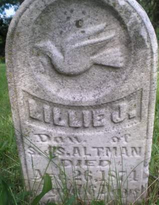 ALTMAN, LILLIE J. - Keokuk County, Iowa | LILLIE J. ALTMAN