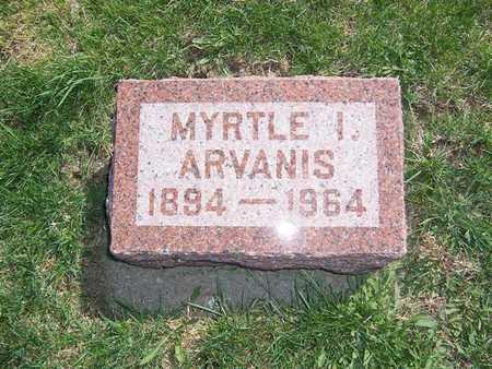 ARVANIS, MYRTLE I - Keokuk County, Iowa | MYRTLE I ARVANIS