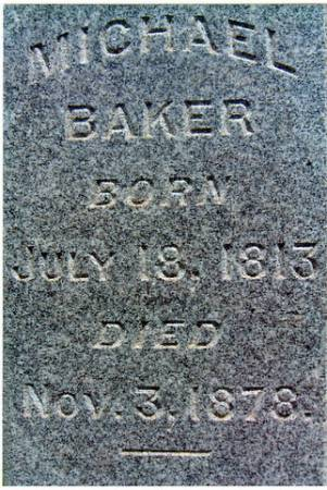 BAKER (CLOSE-UP), MICHAEL - Keokuk County, Iowa | MICHAEL BAKER (CLOSE-UP)
