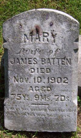BATTEN, MARY - Keokuk County, Iowa | MARY BATTEN