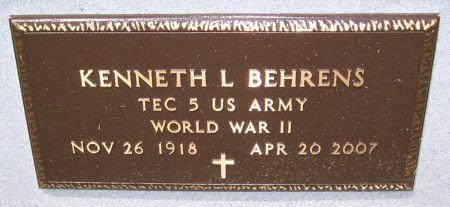 BEHRENS, KENNETH L. - Keokuk County, Iowa | KENNETH L. BEHRENS