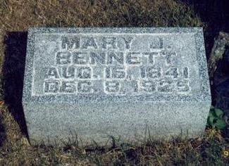 LYONS BENNETT, MARY JANE - Keokuk County, Iowa | MARY JANE LYONS BENNETT