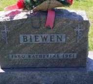 BIEWEN, KATHERINE - Keokuk County, Iowa | KATHERINE BIEWEN