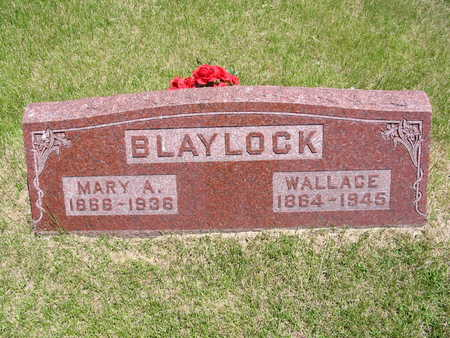BLAYLOCK, MARY - Keokuk County, Iowa | MARY BLAYLOCK