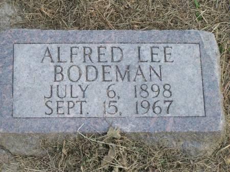 BODEMAN, ALFRED LEE - Keokuk County, Iowa | ALFRED LEE BODEMAN