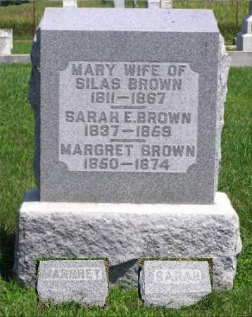 BROWN, MARY - Keokuk County, Iowa | MARY BROWN