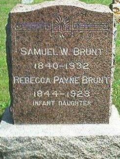 PATYNE BRUNT, REBECCA - Keokuk County, Iowa | REBECCA PATYNE BRUNT