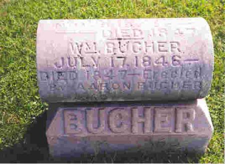 BUCHER, ADAM - Keokuk County, Iowa | ADAM BUCHER