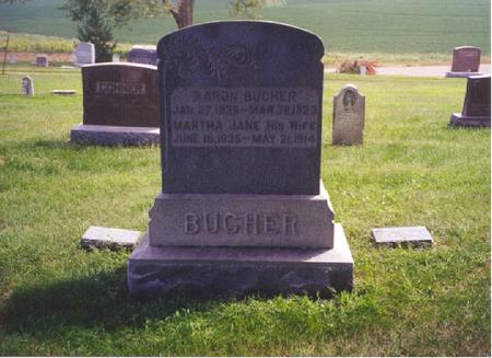 BUCHER, MARTHA JANE - Keokuk County, Iowa | MARTHA JANE BUCHER