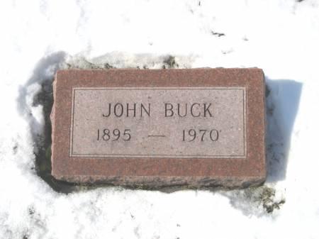 BUCK, JOHN HENRY - Keokuk County, Iowa | JOHN HENRY BUCK