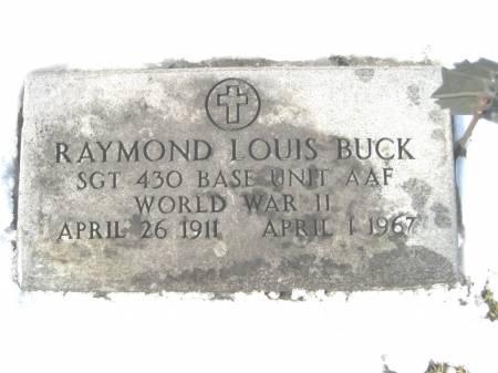 BUCK, RAYMOND LOUIS - Keokuk County, Iowa | RAYMOND LOUIS BUCK