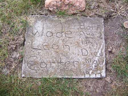CARTER, WADE LEON - Keokuk County, Iowa | WADE LEON CARTER