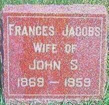 JACOBS CHASE, FRANCES - Keokuk County, Iowa | FRANCES JACOBS CHASE