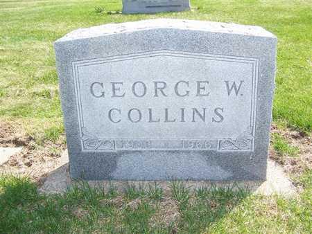 COLLINS, GEORGE W. - Keokuk County, Iowa | GEORGE W. COLLINS