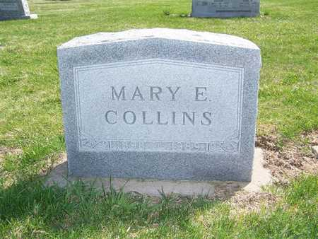 COLLINS, MARY E. - Keokuk County, Iowa | MARY E. COLLINS