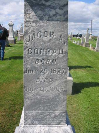 CONRAD, JACOB ANTON - Keokuk County, Iowa | JACOB ANTON CONRAD