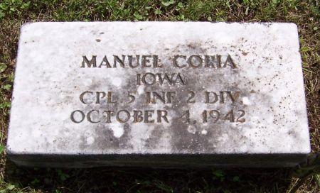 CORIA, MANUEL - Keokuk County, Iowa   MANUEL CORIA