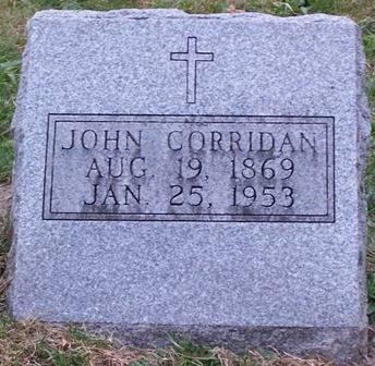 CORRIDAN, JOHN - Keokuk County, Iowa | JOHN CORRIDAN
