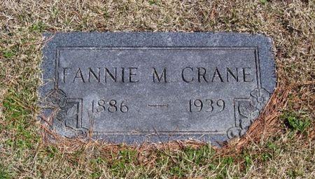 CRANE, FANNIE M. - Keokuk County, Iowa | FANNIE M. CRANE