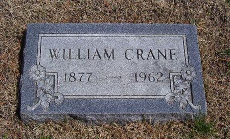 CRANE, WILLIAM - Keokuk County, Iowa   WILLIAM CRANE