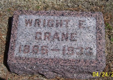CRANE, WRIGHT E. - Keokuk County, Iowa | WRIGHT E. CRANE