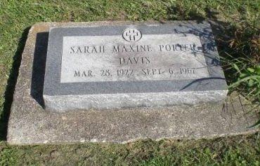 DAVIS, SARAH MAXINE - Keokuk County, Iowa | SARAH MAXINE DAVIS
