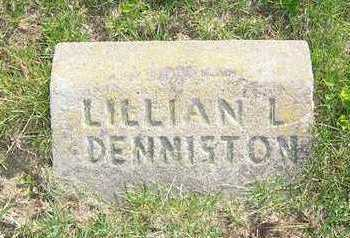 DENNISTON, LILLIAN L. - Keokuk County, Iowa | LILLIAN L. DENNISTON