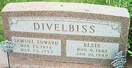 DIVELBISS, SAMUEL EDWARD - Keokuk County, Iowa | SAMUEL EDWARD DIVELBISS