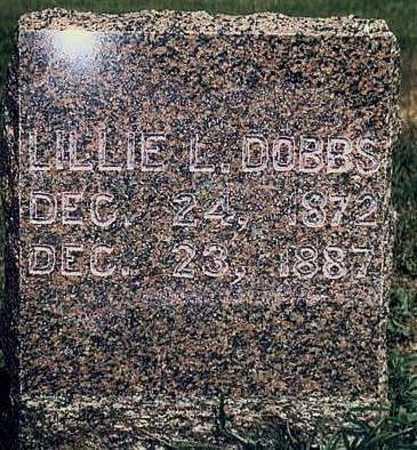 DOBBS, LILLIE L. - Keokuk County, Iowa | LILLIE L. DOBBS
