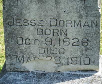 DORMAN, JESSE - Keokuk County, Iowa | JESSE DORMAN