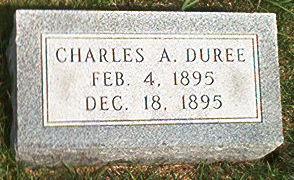 DUREE, CHARLES A. - Keokuk County, Iowa   CHARLES A. DUREE
