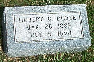 DUREE, HUBERT G. - Keokuk County, Iowa | HUBERT G. DUREE