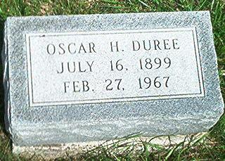 DUREE, OSCAR - Keokuk County, Iowa | OSCAR DUREE