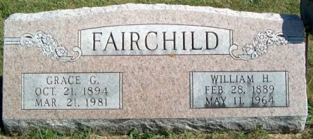 FAIRCHILD, GRACE G. - Keokuk County, Iowa | GRACE G. FAIRCHILD