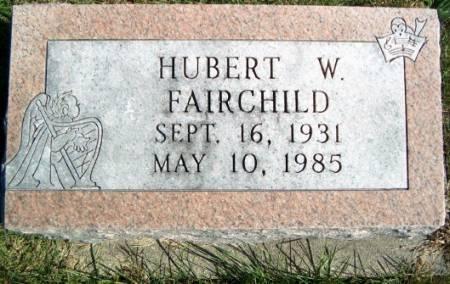 FAIRCHILD, HUBERT W. - Keokuk County, Iowa | HUBERT W. FAIRCHILD
