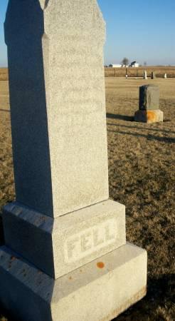 FELL, ELIZABETH - Keokuk County, Iowa | ELIZABETH FELL