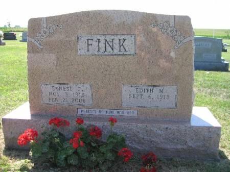 FINK, ERNEST - Keokuk County, Iowa | ERNEST FINK