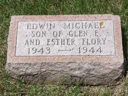 FLORY, EDWIN MICHAEL - Keokuk County, Iowa   EDWIN MICHAEL FLORY
