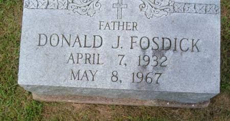 FOSDICK, DONALD J. - Keokuk County, Iowa | DONALD J. FOSDICK