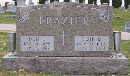 FRAZIER, ELSIE M. - Keokuk County, Iowa | ELSIE M. FRAZIER