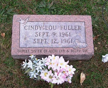 FULLER, CINDY LOU - Keokuk County, Iowa | CINDY LOU FULLER