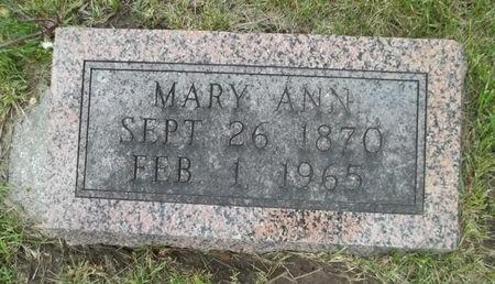 FULLER, MARY ANN - Keokuk County, Iowa | MARY ANN FULLER